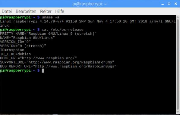 Raspbian-Stretch-Image-Version