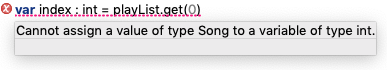 Deep Java integration for YAKINDU state machines: type errors