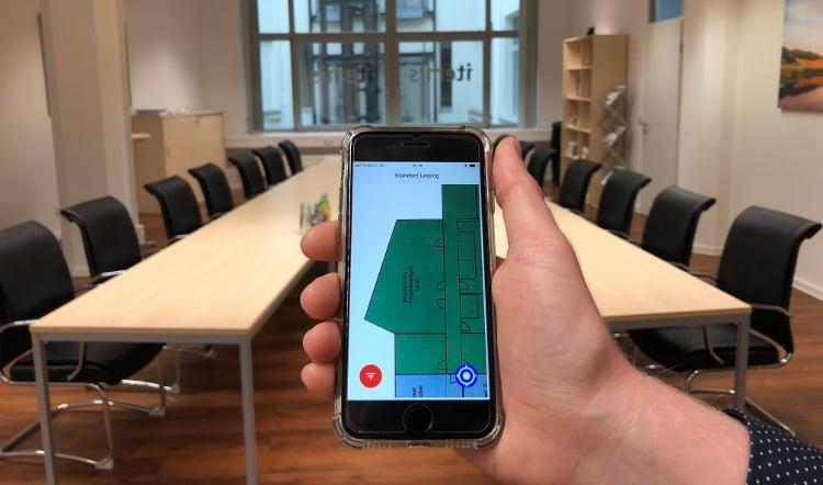 Indoor-Navigation-mit-Bluetooth-Beacons