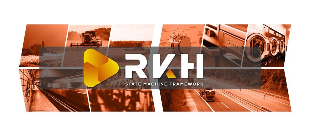 Logo grafic of the RKH state machine framework