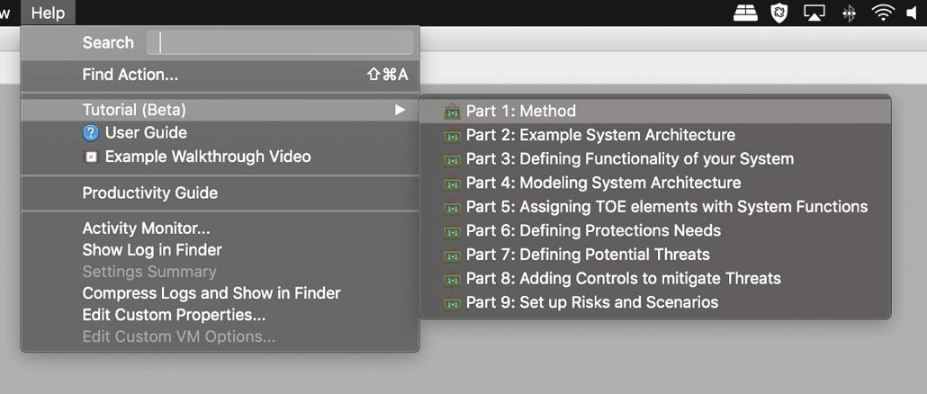Hilfe mit Einstiegspunkt in das Tutorial (Screenshot)