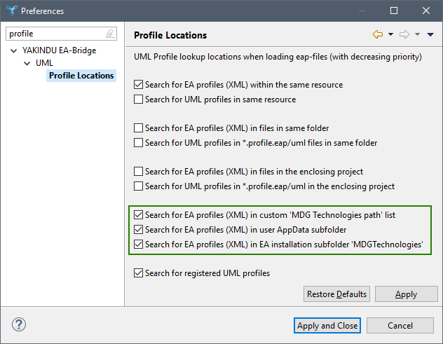 4-YAKINDU-EA-Bridge-Eclipse-Option-UML-Profiles