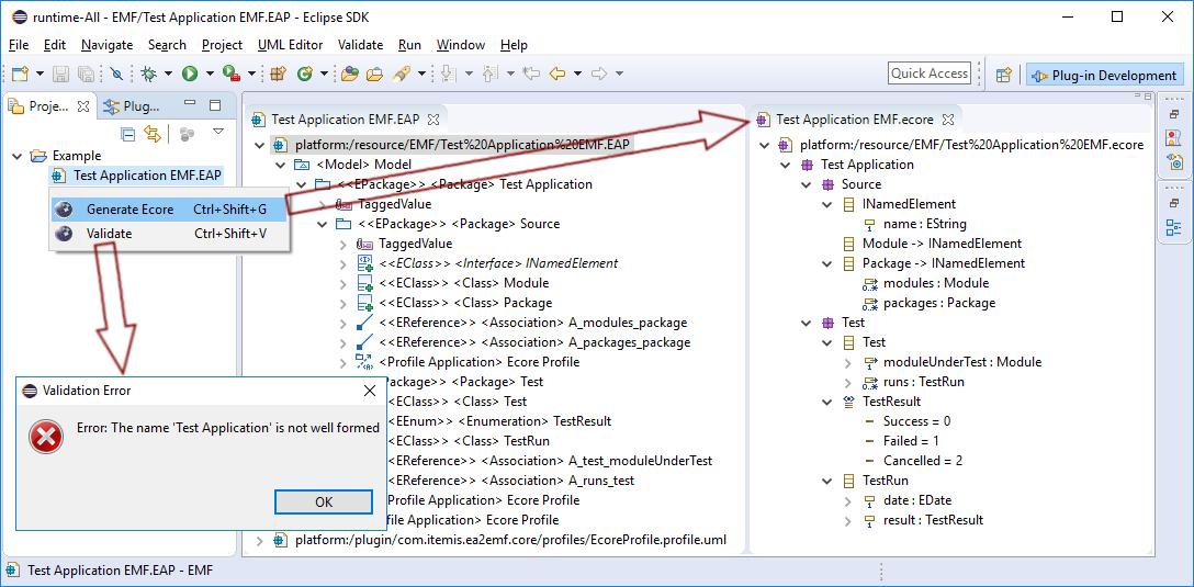 Eclipse-Extension-EA-Bridge
