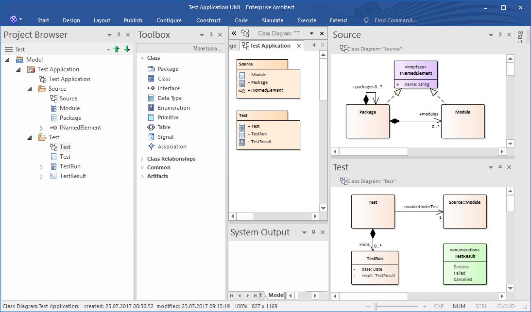 Test Application UML (100)