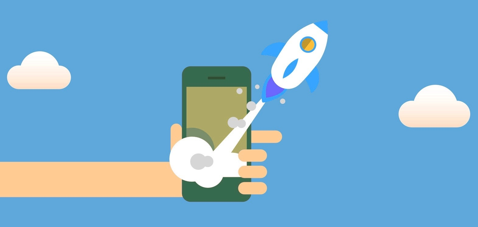 rakete-startet-smartphone-handy-app