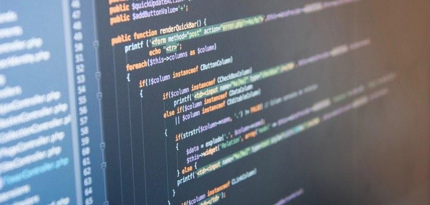 Code-Bildschirm