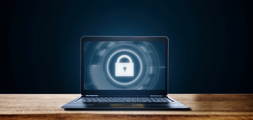 cyber-security-laptop-email, Privat-Key