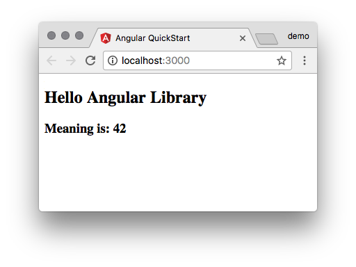 angular-library-quickstart-setup