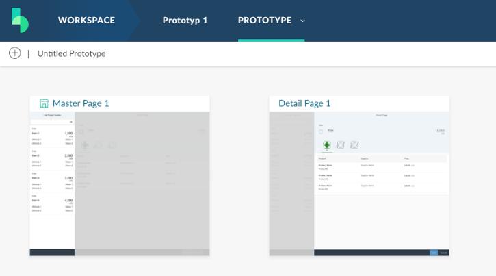Fiori Prototyp mit SAP Build – Die Erstellung des Projektes