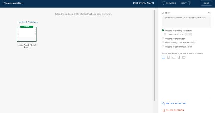 Fiori Prototyping: Erstellung einer User Study in SAP Build