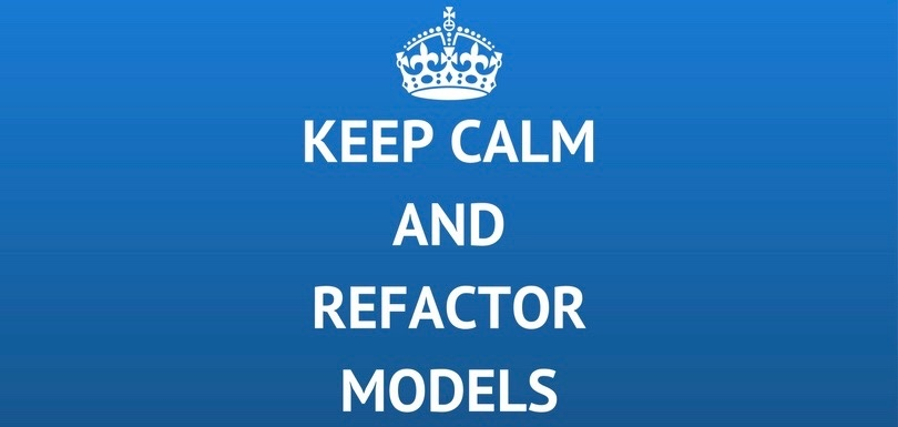 Refactor your statechart models
