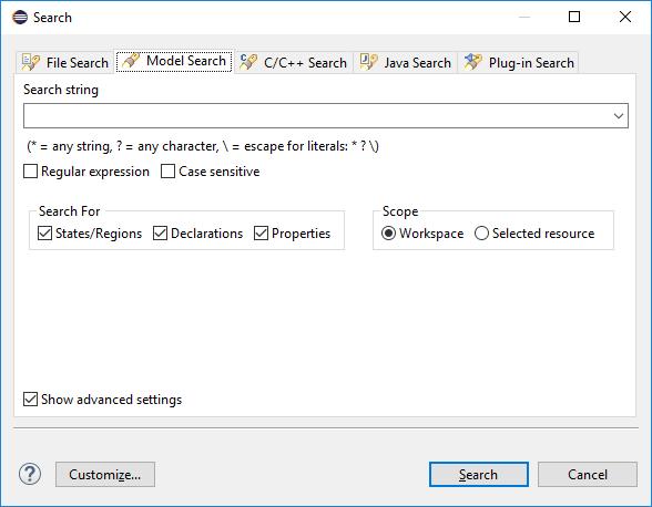 YAKINDU-Statechart-Tools-August-Release-Model-Search