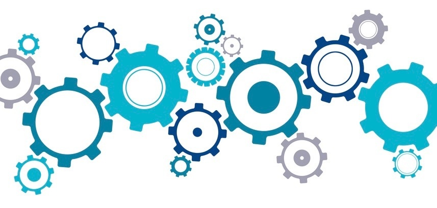 Effective traceability for inter organizational projects, illustrated with different kind of gears