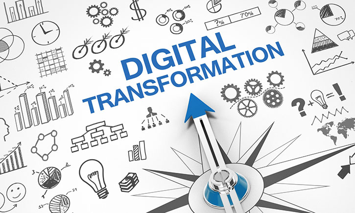 Kompass weist den Weg in die digitale Transformation