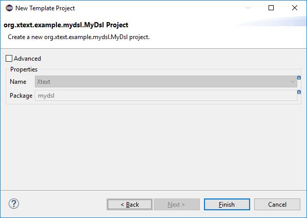 NewProjectWizardTemplateConfiguration