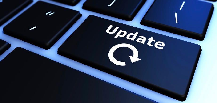 Update-Tastatur