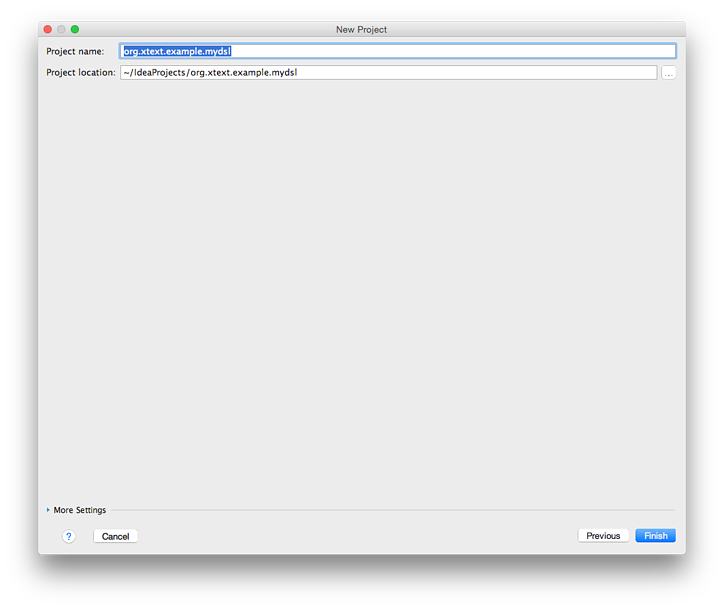 Get started with Xtext and IntelliJ IDEA in 5 Minutes