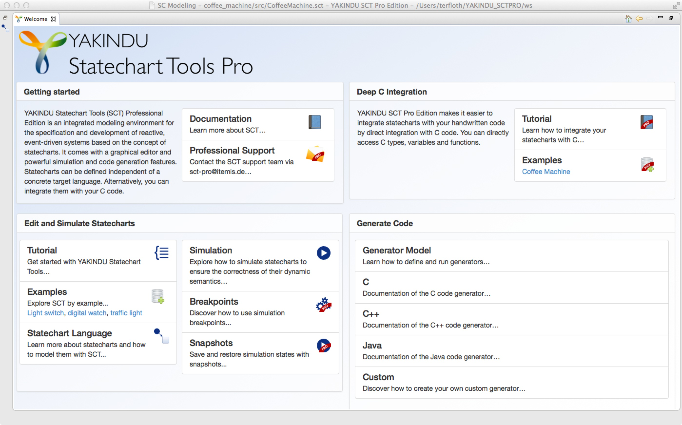 YAKINDU Statechart Tools Professional Edition – ready for beta testing