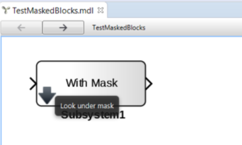 Look under mask of Simulink models
