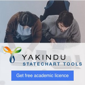 Get free academic licence for YAKINDU Statechart Tools Prefossional Edition