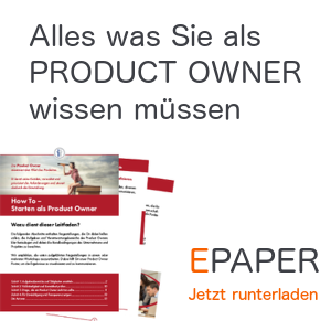 E-Paper für Product Owner
