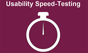 Das itemis Usability Dinner: Nutzerfeedback durch Speed-Testing